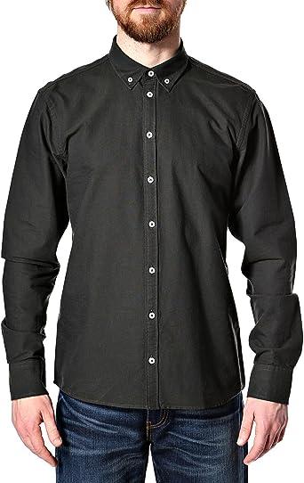 minimum Chris Shirt-Camisa Hombre De Color Caqui del ...