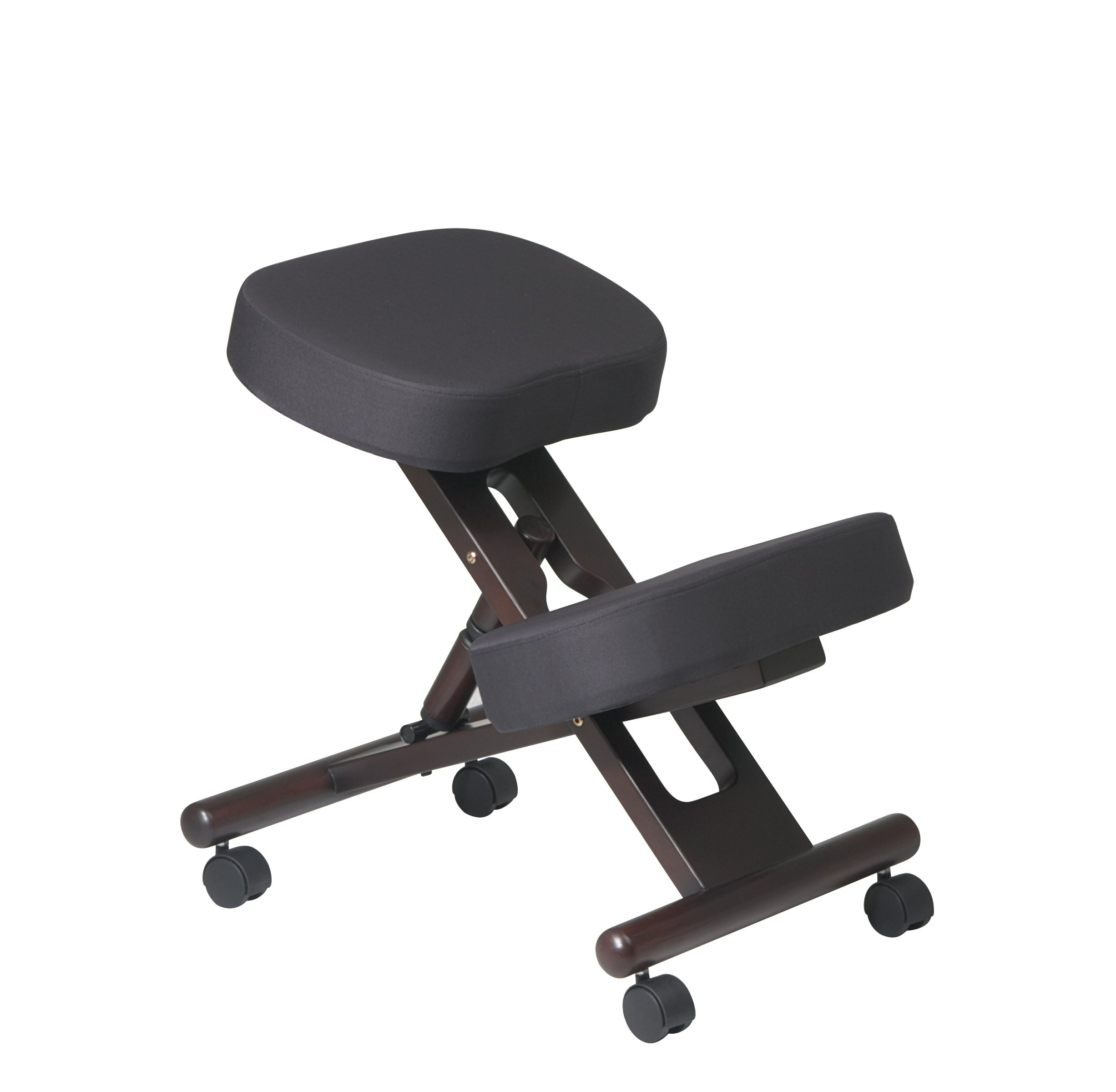 Ergonomic Knee Chair with Memory Foam Color: Espresso by Office Star