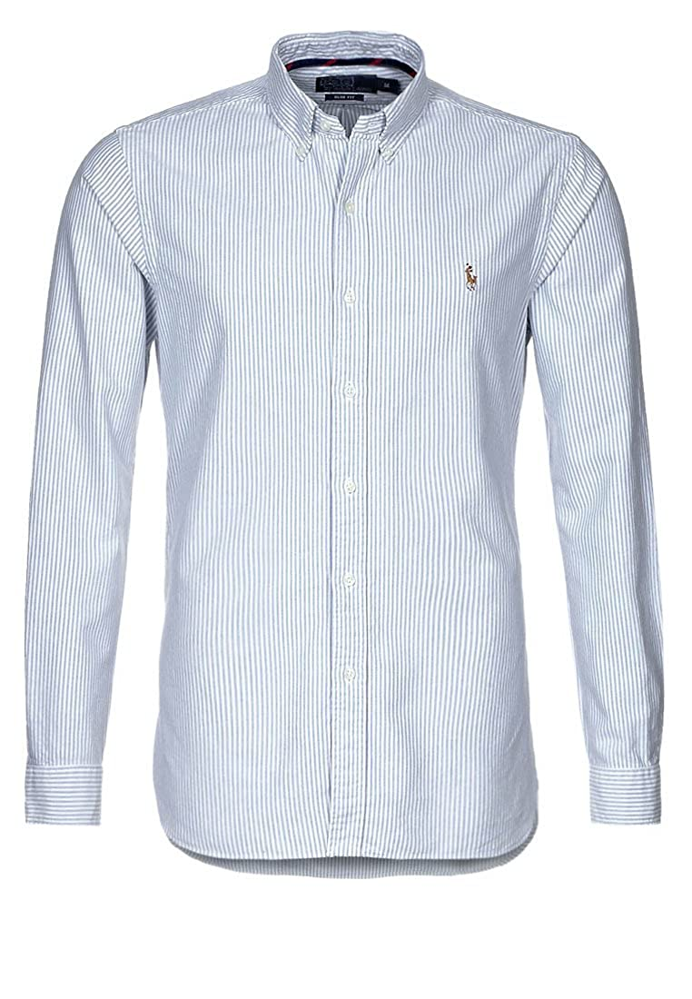 TALLA M. Polo Ralph Lauren Camisa Button Down Tejido oxfod Classic Fit