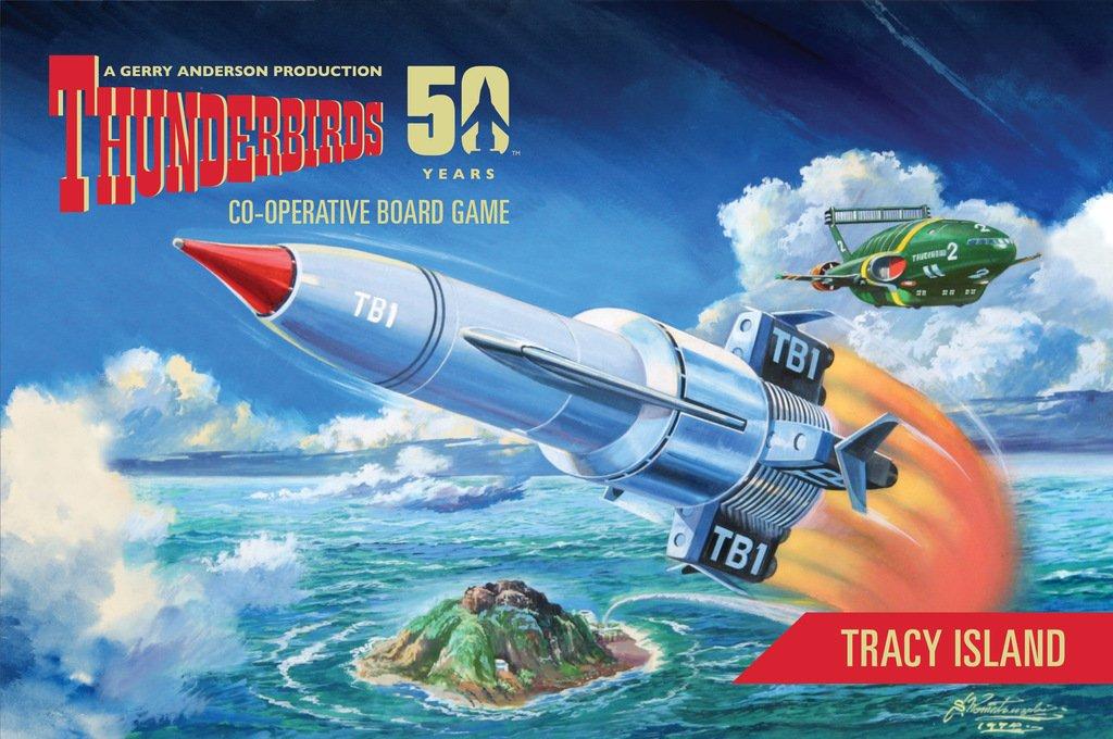 Modiphius Thunderbirds Brettspiel-Erweiterung: Tracy Island (in Englischer Sprache)
