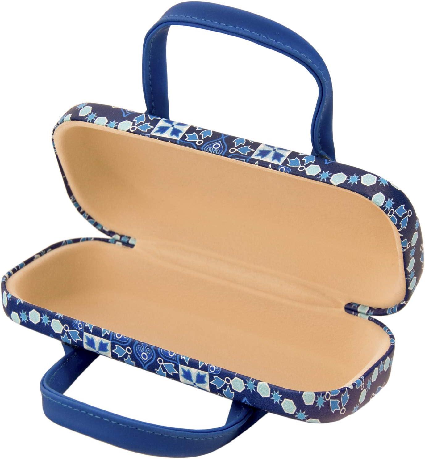 Innenfutter aus Samt Mehrfarbig onesize mit Flexverschluss und flexiblen Griffen PracticDomus Universal-Schutzh/ülle f/ür Brille
