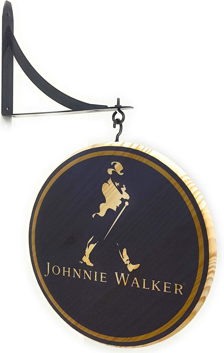 Johnnie Walker 12 Inch Double Sided Pub Sign
