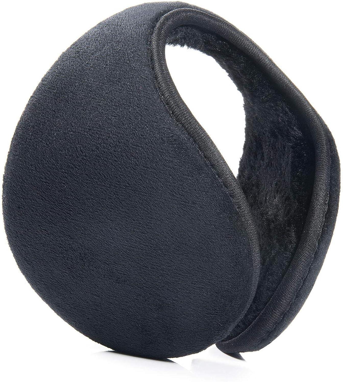 Czemo Unisex Invierno Cálido Plegable Tamaño Ajustable Orejeras de Felpa Earmuff Caliente Hombres Mujeres