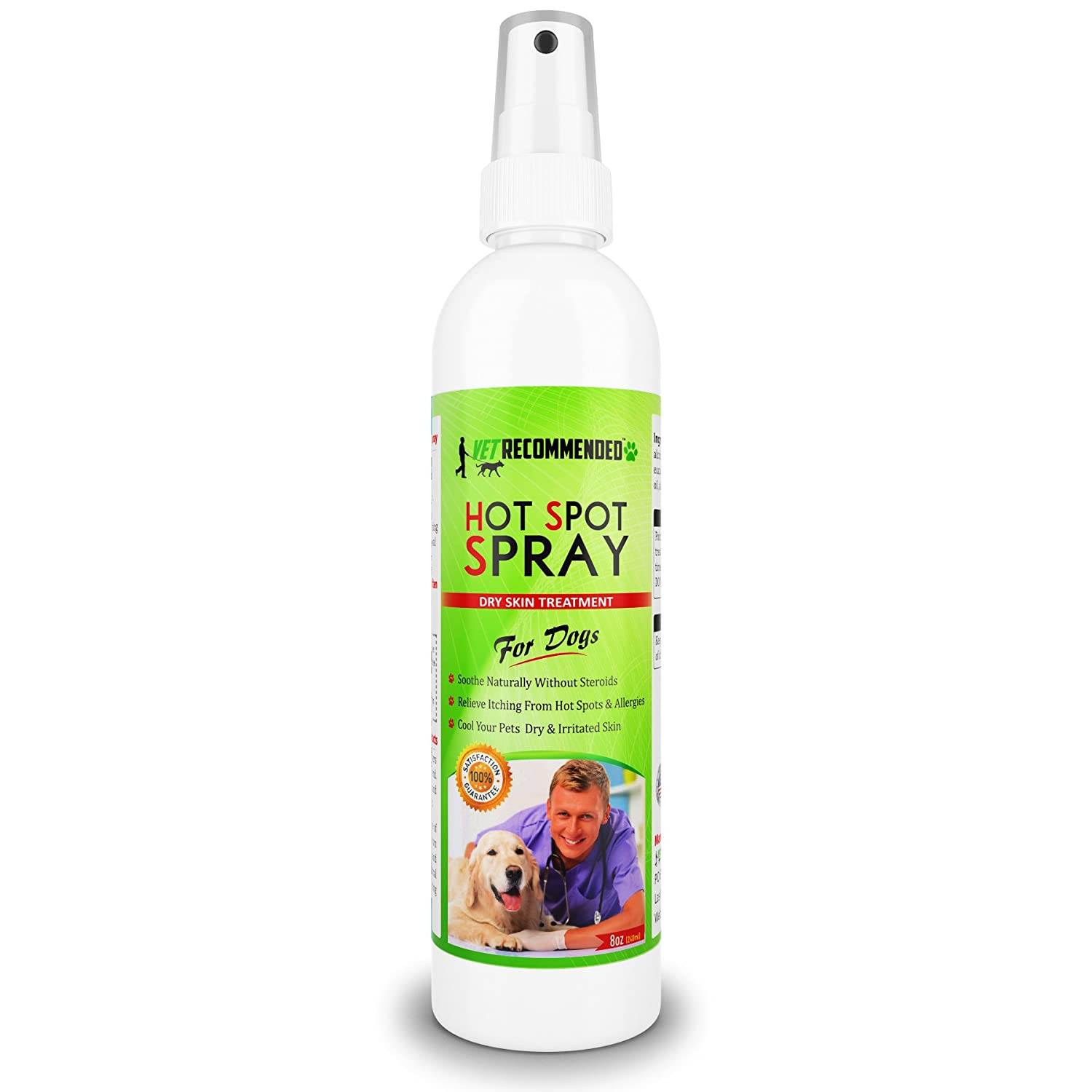 Natural Care Itch Relief Hot Spot Spray