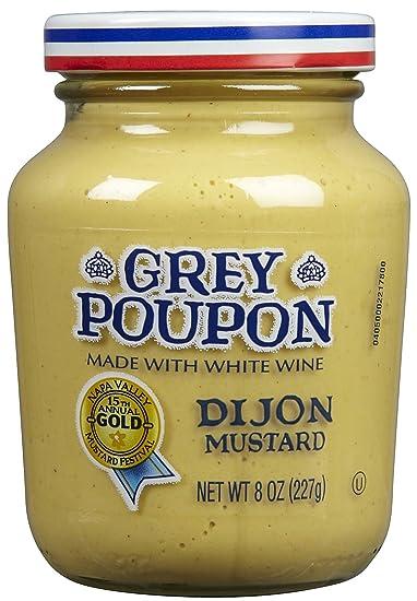 amazon com grey poupon dijon mustard 8 oz jar 4 jars