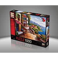 Ks Games- Amalfi Coast Jin Park 1000 Parça Puzzle
