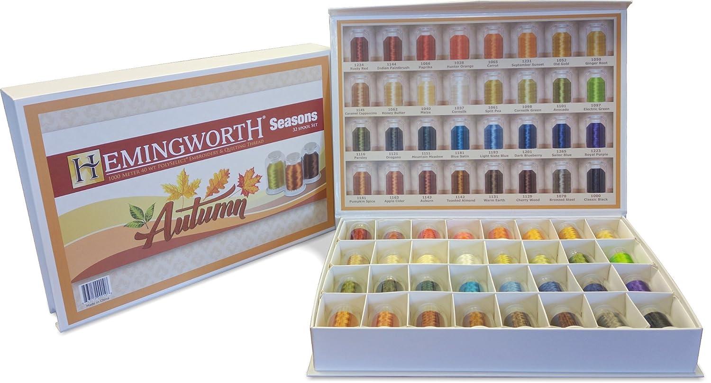 Autumn Hemingworth Seasons 32 Spool Set Embroidery Thread