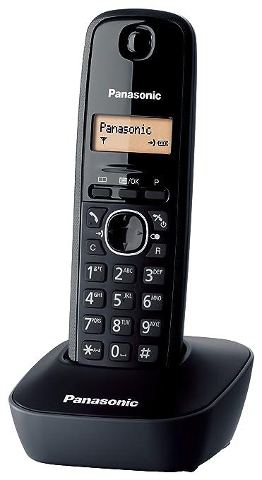992 opinioni per Panasonic KX-TG1611 Telefono Cordless Domestico con Base Montabile a Parete,