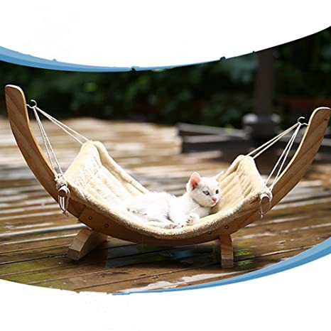 akssweet Pequeño gato Dormir Hamaca/cuna/dormir Pad Grueso Cálido tipo colgar gato cama