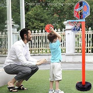 Rainai Bambini Basket Sport Portatile Plastica Tabellone Basket Stand 4 Sezioni Altezza Regolabile