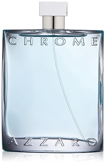 Amazoncom Azzaro Mens Chrome Eau De Toilette Natural Spray 67