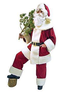 Santa Klaus Papá Noel Traje De Alta Calidad Oveja Peluche ...