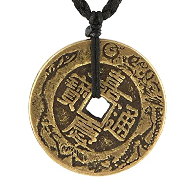 Fortune prosperity asian necklace magnificent words