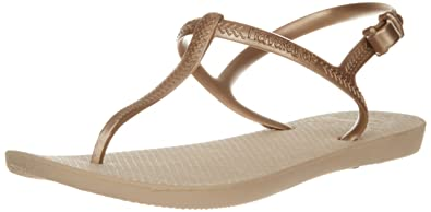 022b36ce90822 Havaianas Freedom Flip-Flop - Women s Sand Grey Light Golden