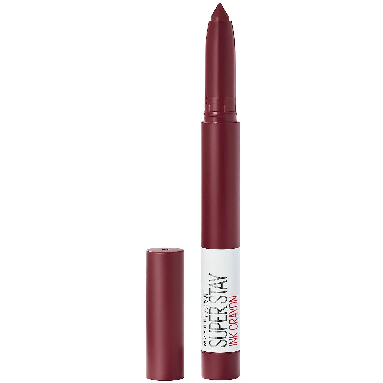 Maybelline SuperStay Ink Crayon Lipstick, Matte Longwear Lipstick Makeup, Settle For More