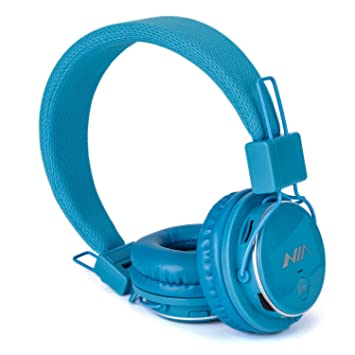 Auriculares inalámbricos, auriculares plegable fm radio, multifuncional niños auriculares con micrófono Reproductor de tarjeta SD, Over Ear: Amazon.es: ...