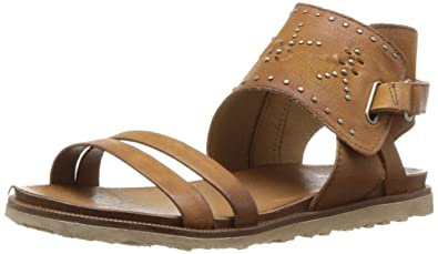e5527f3bc4b7a Miz Mooz Tibby Women s Ankle Strap Sandal