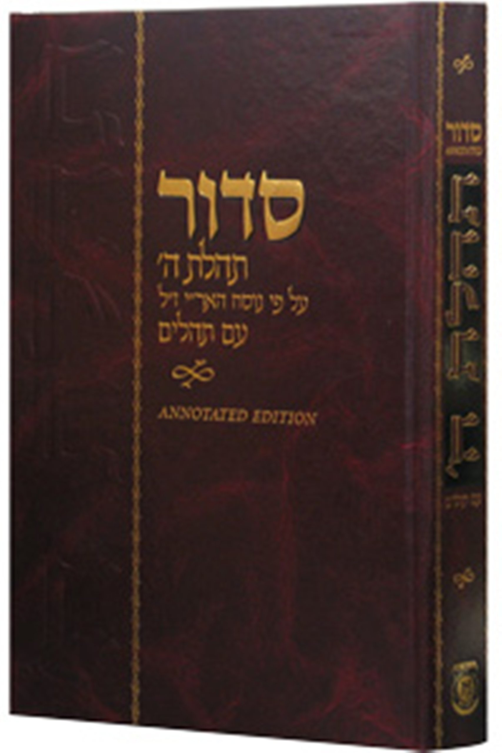 Siddur Annotated Hebrew Large (Hebrew Edition)