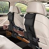 EZshoot 2PCS Car Seat Back Gun Racks, Automotive Gun Holder Rack for Rifle/Shotgun, Tactical Hunting Backseat Sling Rack…