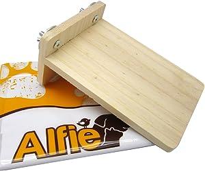 Alfie Pet - Wilmer Wood Platform for Mouse, Chinchilla, Rat, Gerbil and Dwarf Hamster