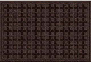 product image for Textures Blocks Entrance Mat, 2-Feet by 3-Feet, Walnut
