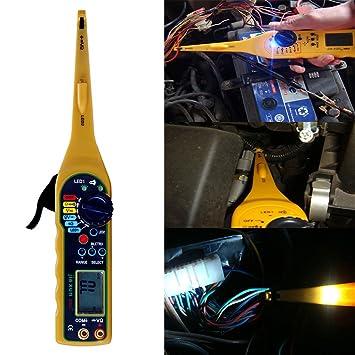 amazon com multi function auto circuit tester with lcd display rh amazon com