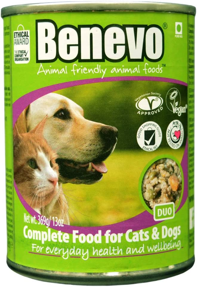 Benevo Organic Vegan Moist Dog Duo Feed Pack of 6 x 369 g