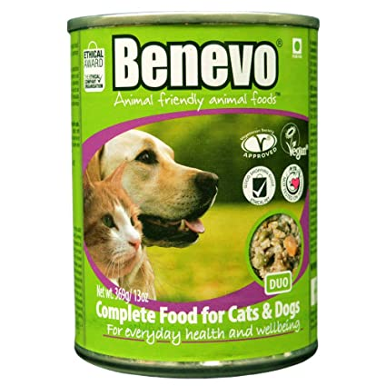 Benevo Duo Dog And Cat Food Case 12 Amazon Com Grocery Gourmet
