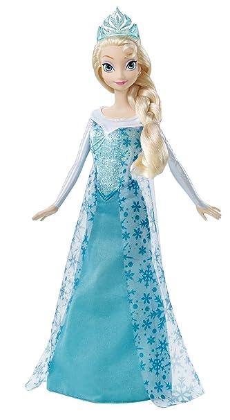 Amazon mattel disney frozen sparkle princess elsa doll toys mattel disney frozen sparkle princess elsa doll voltagebd Choice Image