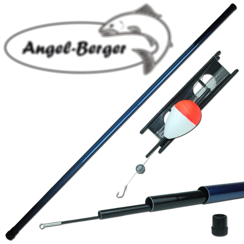 Angel-Berger Stipprute mit Fertigangel Kinderangel K/öderfischangel