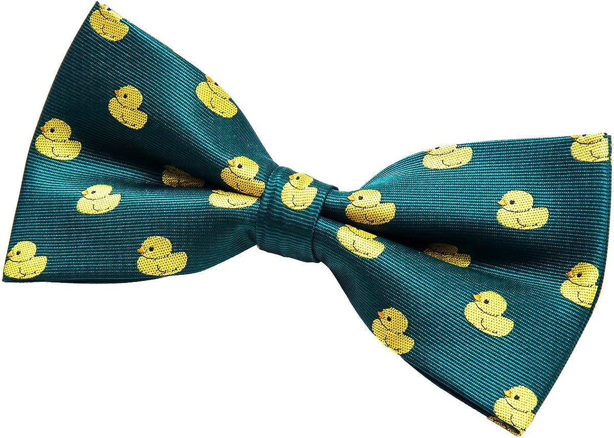 Moño premontado Retreez para corbata, diseño de patito de goma ...