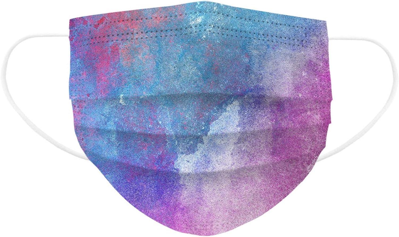 Saingace 10//50//100PC St/ück Kinder Mundschutz Maske Halloween Einweg 3-lagig Atmungsaktiv Face Cover Mund und Nasenschutz Bedeckung Multifunktionstuch Halstuch Weihnachts TM