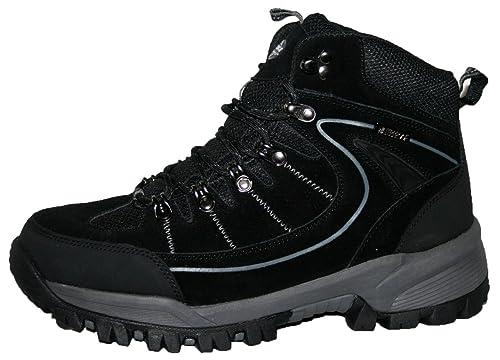 Karrimor - Botas para hombre de senderismo (ante y cierre con cordones), color Gris, talla 45
