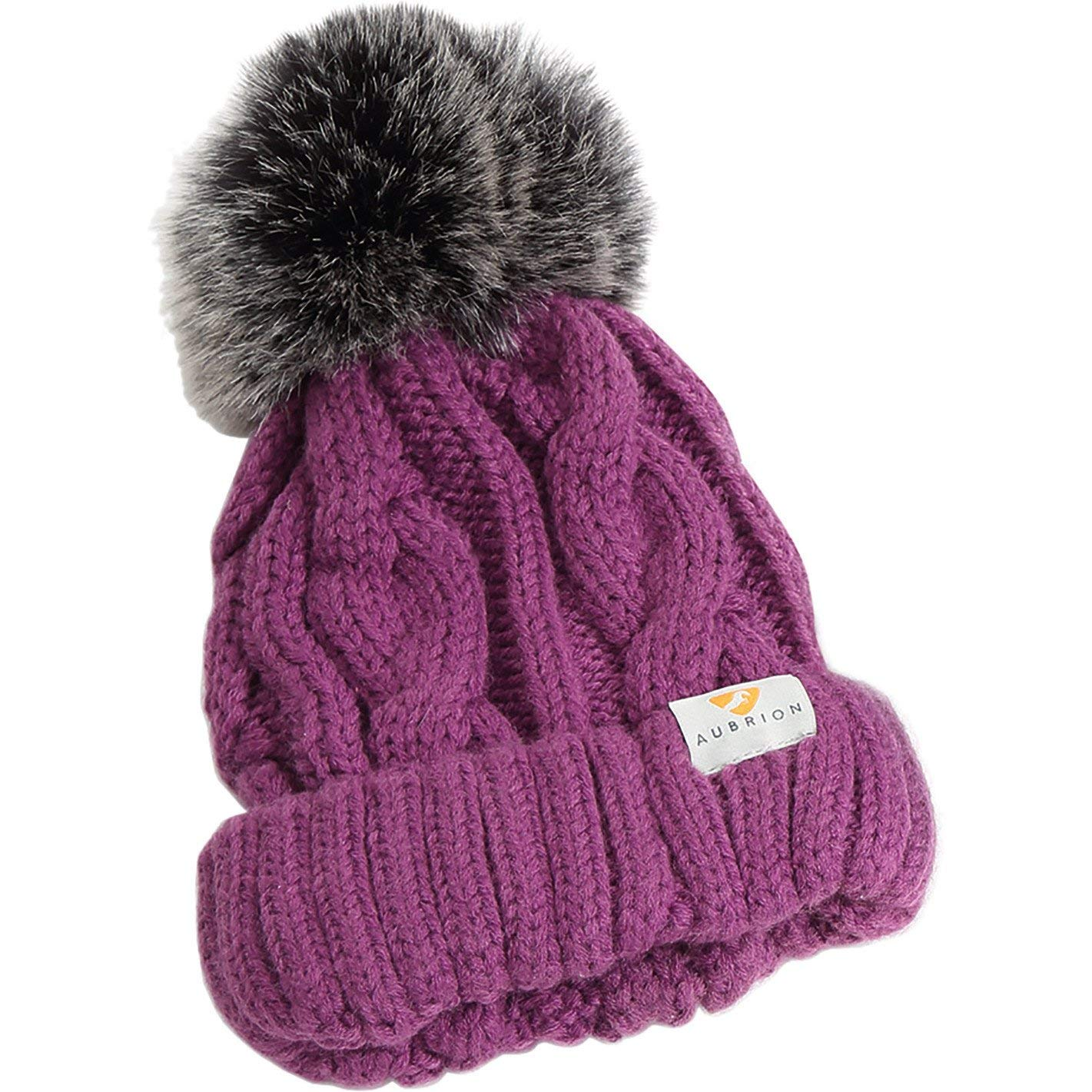 Shires AUBRION Indiana Pom Pom Hat - Ladies