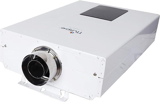 Wei/ß 230 V TTulpe TTCM1350 C-Meister 13 P50 ErP//niedrige NOx raumluftunabh/ängige Propangas Durchlauferhitzer 50 mbar