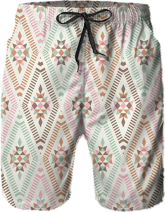 BIBOZHAO Mens Swim Trunks,Quick Dry Short Pants with Pockets Beach Swimming Trunks S