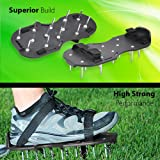 Scuddles Lawn Aerator Shoes, Heavy Duty Spiked
