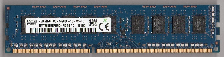 Memory//Ram SK hynix HMT351U7EFR8C-RD 4GB 8GB 16GB PC3-14900E ECC Unbuffered DIMM