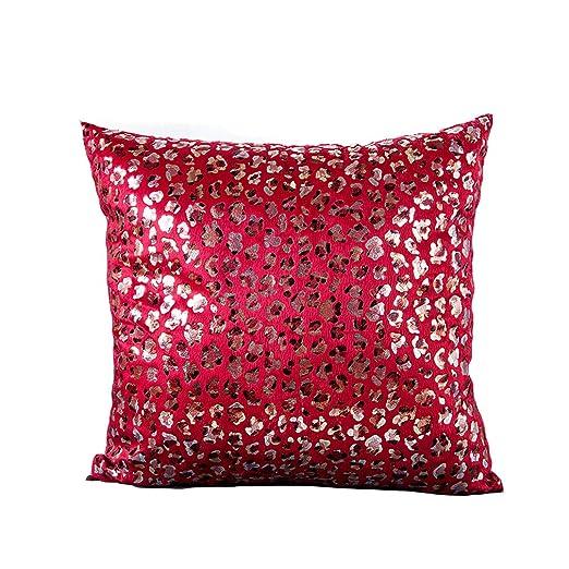 Lihan Funda de Almohada Textura Animal Leopardo Imprimiendo ...