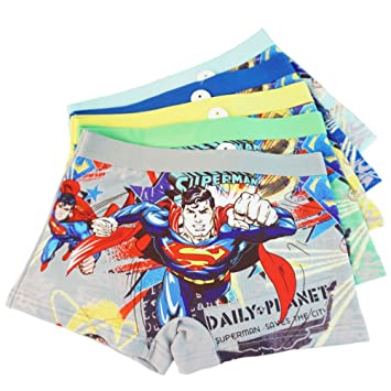 Image Unavailable. Image not available for. Color  3-8 Years Old Boys  Superman Boxer Briefs Hero-Themed Underwear 5 Multipack 1d840cab6a