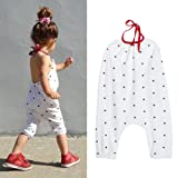 Amazon Price History for:Franterd Baby Girls Straps Rompers, Kid Jumpsuits Piece Pants Clothing