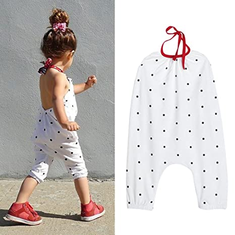 a3acdea8a Franterd Baby Girls Straps Rompers
