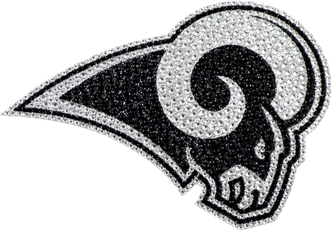 6.25-inches NFL Los Angeles Rams Bling Emblem