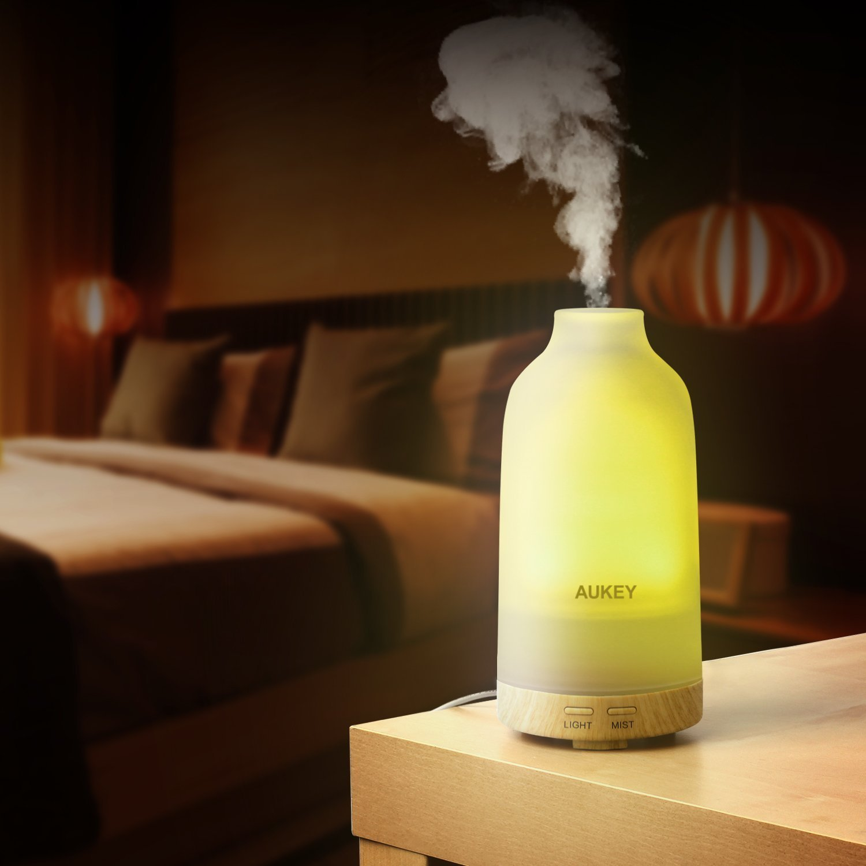 AUKEY Essential Oil Diffuser 100ml Aromatherapy Essential