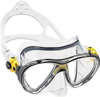 Gafas de buceo con protección nariz y contorno facial de silicona High Seal.