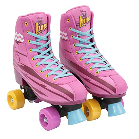 Soy Luna Soy Luna-YLU321 Patines Training, Talla 30 y 31, Color Rosa