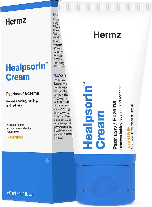 Healpsorin Psoriasis Crema (50 ml) – Tratamiento Natural - Para ...
