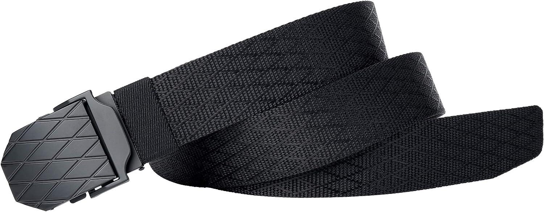 para hombres normales//grandes con hebilla de metal Cintur/ón para hombre militar t/áctico de nailon cintur/ón ajustable 110 cm-180 cm VRLEGEND