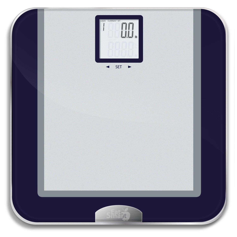 Eatsmart Precision Tracker Digital Bathroom Scale W 400 Lb Capacity And Eatsma 896893001244 Ebay