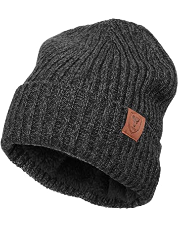 9c64f13863f OZERO Winter Daily Beanie Stocking Hat - Warm Polar Fleece Skull Cap for Men  and Women